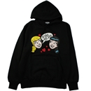 GINGER LOVE PULLOVER (BLACK)