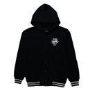Emblem Stadium Sweat Hoodie (Black x Black)