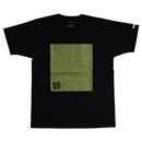 Square S/S T-Shirts (Black)