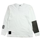 AREA 88 L/S T-SHIRTS (WHITExGRAY)