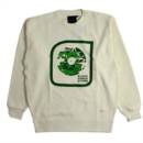 RECORD CREW SWEAT (NATURAL)