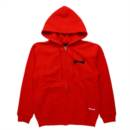 OUTLINE ZIP HOODIE (RED)