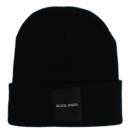 BA TAG KNIT CAP (BLACK)