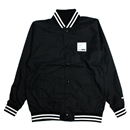 WTF NYLON VARSITY JACKET (BLACK)