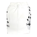 SWEAT SKIRT (WHITE)
