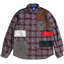 LIFE PATCH FLANNEL SHIRT (CHECK)