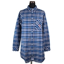 IRIE APPLE FLANNEL SHIRT (BLUE)