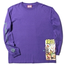 PIXEL HERO L/S TEE (PURPLE)