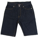 POW KING SELVEDGE DENIM SHORTS (INDIGO)