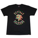 MASH UP BS TEE (BLACK)