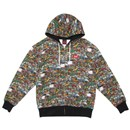 TEN PACES ALL OVER ZIP HOODY (MULTI)