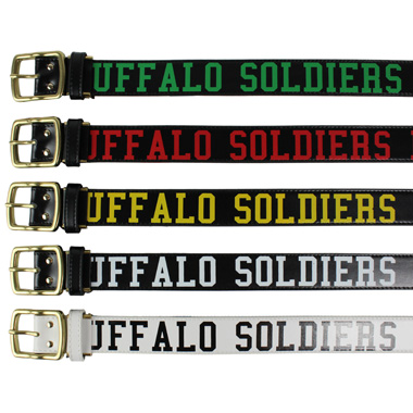 BUFFALO SOLDIERS BELT