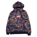 RENAISSANCE 3 ALL OVER HOODY (NAVY)