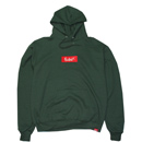 BOX EMBROIDERY HOODY (GREEN)
