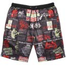 NEW PAPER SWEAT SHORTS (BLACK)