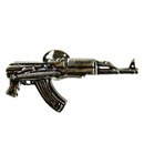 AK-47 PIN BADGE