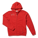 RIDERS ZIP UP HOODIE (RED)