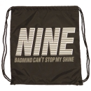 NINE GYM SACK (BLACK)