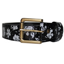 HIBISCUS BELT(BLACK)