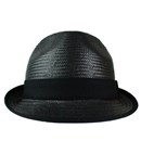 STRAW HAT (BLACK)