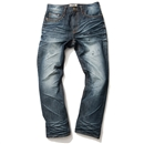 BASIC WASHED DENIM (INDIGO)