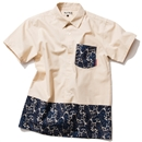 PAISLEY DRESS SHIRT (WHITE)