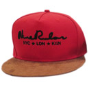 LITERALLY BLESSED 5 PANEL CAP (RED)