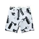 AIR HORN SHORTS (WHITE)