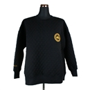 QUILTING CREW SWEAT (BLACK)
