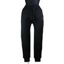 QUILTING CREW SWEAT PANTS (BLACK)