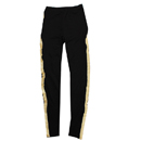 GOLD CHENILLE LEGGINGS (BLACK)