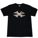 "SHORT SLEEVE TEE ""CURB FAKER-MOH"" (BLACK)"