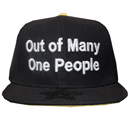 OUT OF MANY ONE PEOPLE (BLACK)