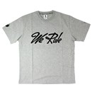 MASH UP WE RULE S/S TEE (GRAY)