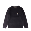 RUDE BEAR SHETLAND SWEATER (BLACK)
