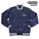 MAJESTIC x SP1 VARSITY JACKET (NAVY)
