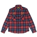 A.B.S FLANNEL CHECK SHIRTS (RED)