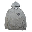 A.B.S. SWEAT ZIP PARKA (H.GRAY)