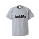 SPECIAL ONE LOGO S/S TEE (H.GRAY)