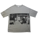 BEAT AN' BLOOD LOOSE FIT POCKET TEE (H.GRAY)