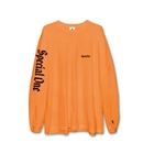 SPECIAL ONE LOGO L/S T-SHIRTS (S.ORANGE)